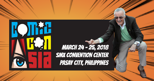 Cross Your Fingers | Stan Lee to visit Manila for ComicCon Asia 2018