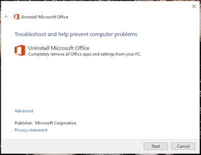 Cara Uninstall All Microsoft Office Product