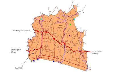 Peta Lokasi Goa Jatijajar