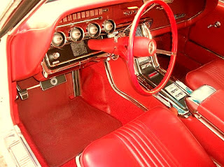 1965 Ford Thunderbird Luxury Coupe Interior Cabin