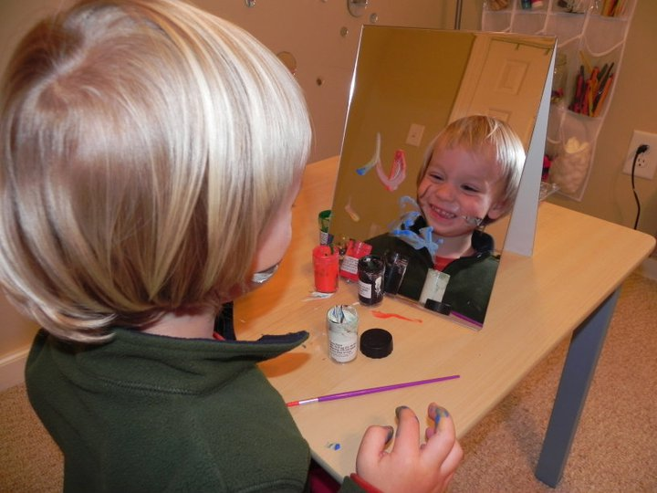 Mirror Exploration Activities For Children Do It