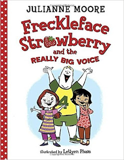 Freckleface Strawberry and the Really Big Voice  cover