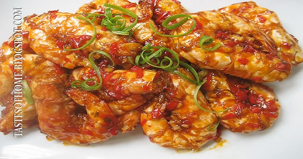 Sweet And Sour Prawns Recipe