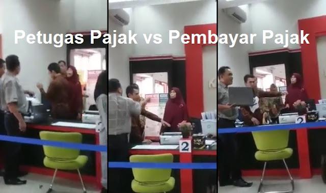 GEGER! Terjadi Keributan di Kantor Pajak KPP Lubuk Pakam Medan Antara Petugas Pajak dengan Pembayar Pajak [Video]