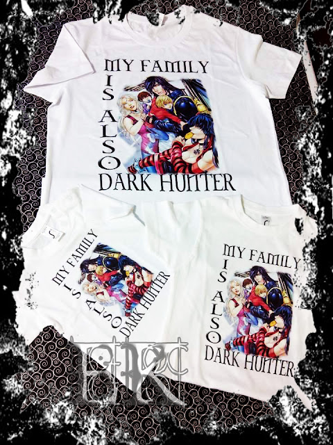 Camisetas My Family Is Also Dark Hunter
