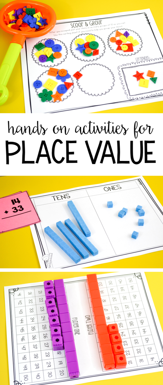 Susan Jones Teaching Place Value Activities