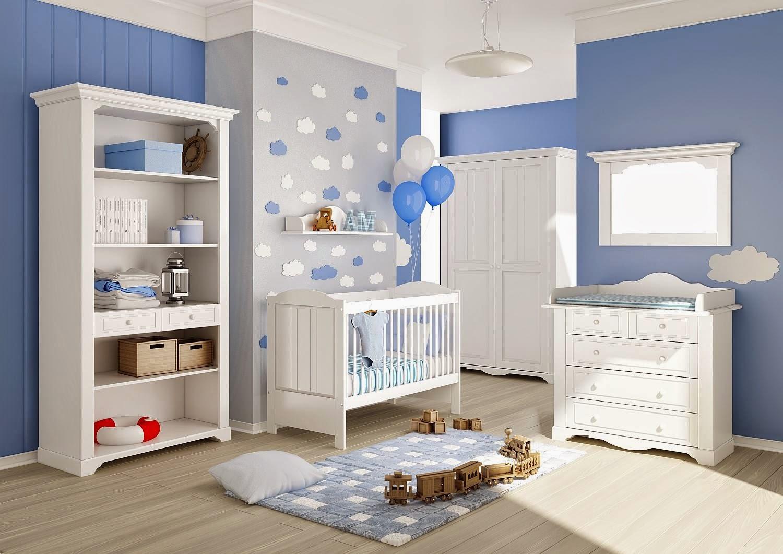 Dormitorio de bebes dormitorio celeste para bebes varones - Dormitorio de ninos ...