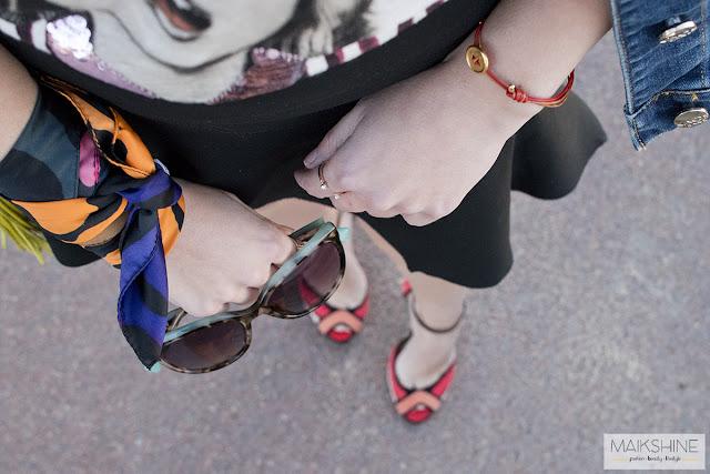 Outfit Dear Tee Maikshine