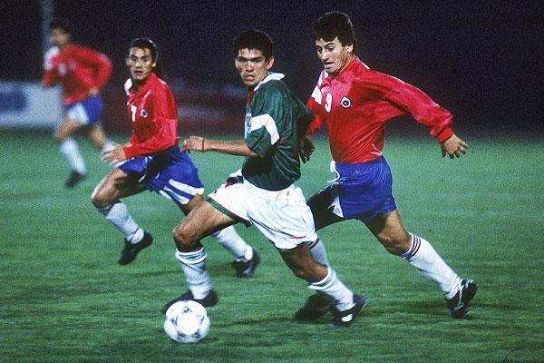 Chile y Bolivia en partido amistoso, 21 de septiembre de 1994