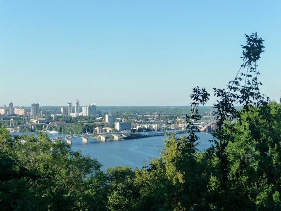Киев. Вид с Владимирской горки