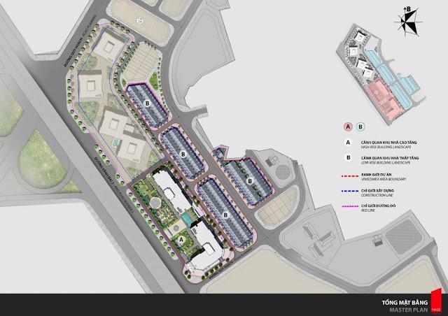 Tổng quan kiến trúc của phân khu Larissa dự án Athena Fulland