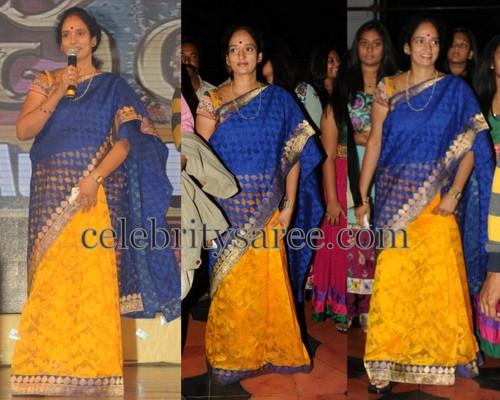 Shyamala Devi Half And Half Saree