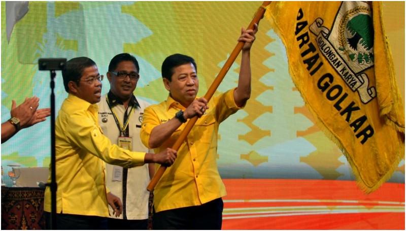 Munaslub Partai Golkar menetapkan Setya Novanto sebagai Ketua Umum periode 2016-2019