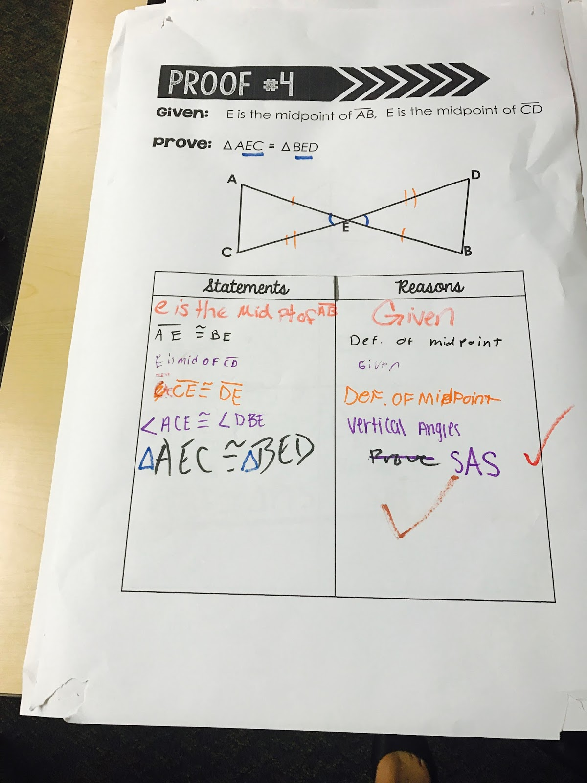 Mrs Newell S Math Triangle Congruence W Proofs Activity