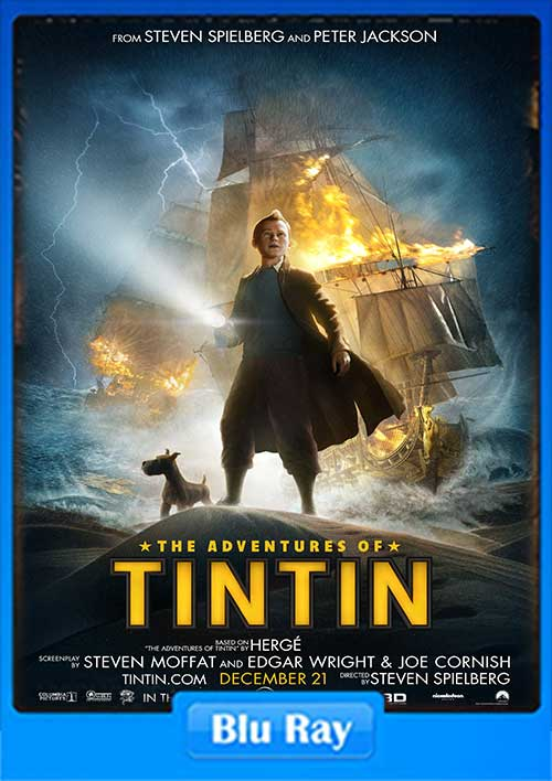 The Adventures of Tintin 2011 720p BluRay 700MB x264 Poster