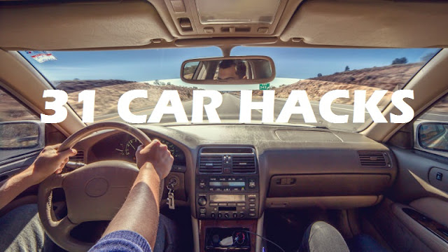 31 Awesome Useful Car Hacks Every Drivers Should Know !!