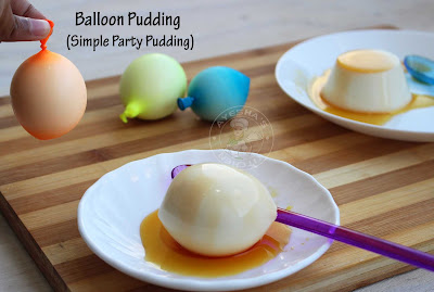 Balloon pudding Christmas desserts milk pudding ayeshas kitchen pudding recipes easy milk pudding desserts recipes quick desserts variety party desserts cakes Christmas cakes pudding