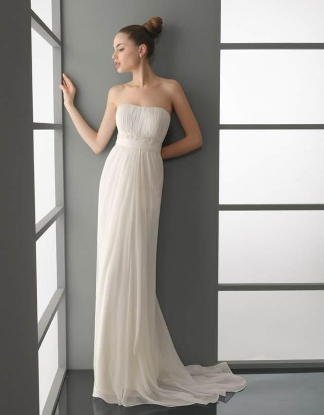 Vestidos de novia sencillos ¡9 imagenes de moda! | Somos Novias