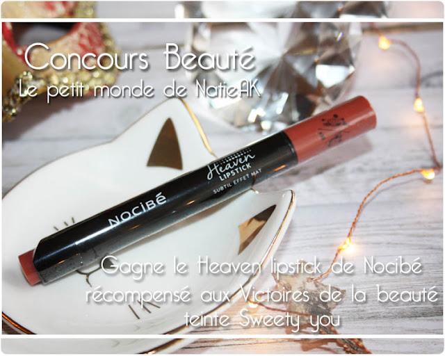 Heaven Lipstick de Nocibé Sweet you