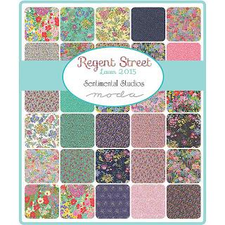 Moda Regent Street Lawn 2015 Fabric by Sentimental Studios for Moda Fabrics