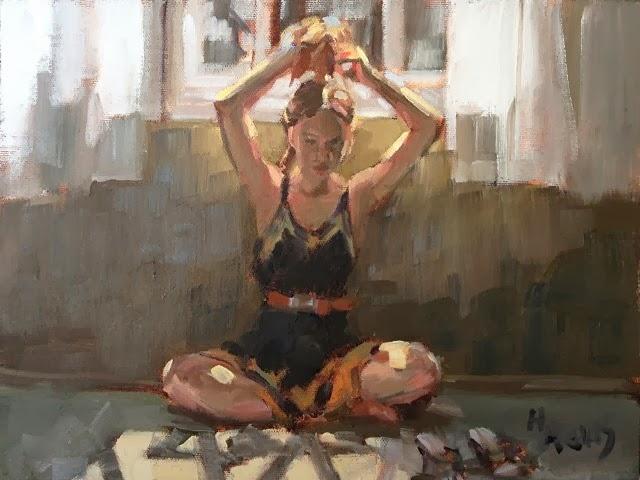 Фигуративная живопись. Heather Arenas