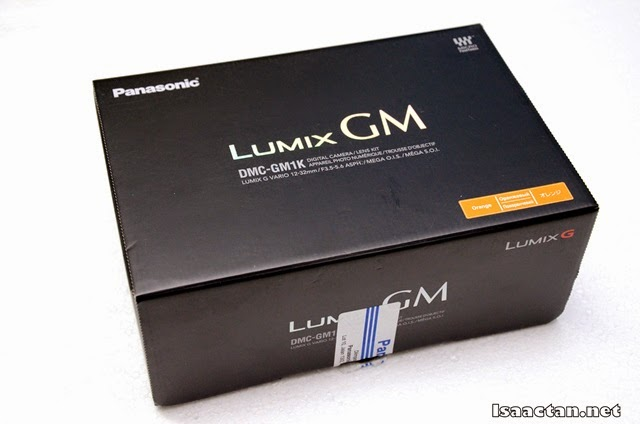The Lumix DMC-GM1K packaging