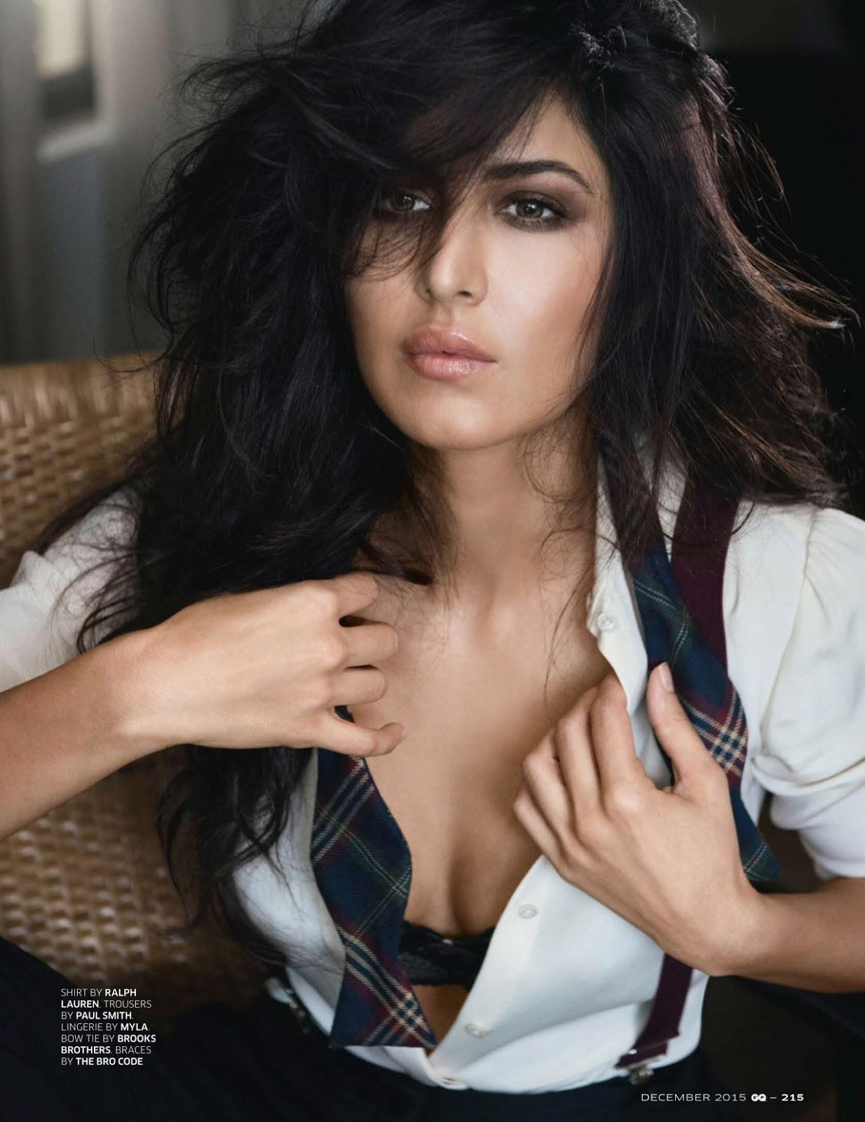 Katrina Kaif Latest Hot Photo shoot In Beautiful Black Dress