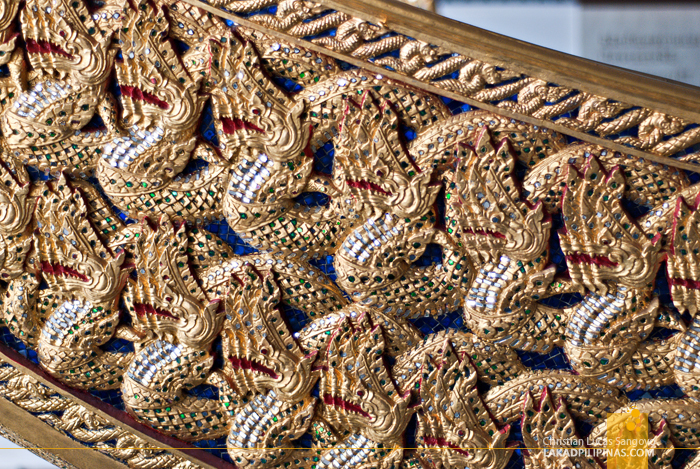 Chao Phraya River Tour Royal Barge Museum Boat Detail