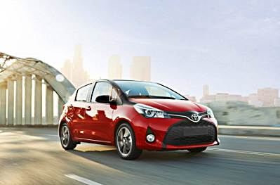 2017 Toyota Yaris Redesign