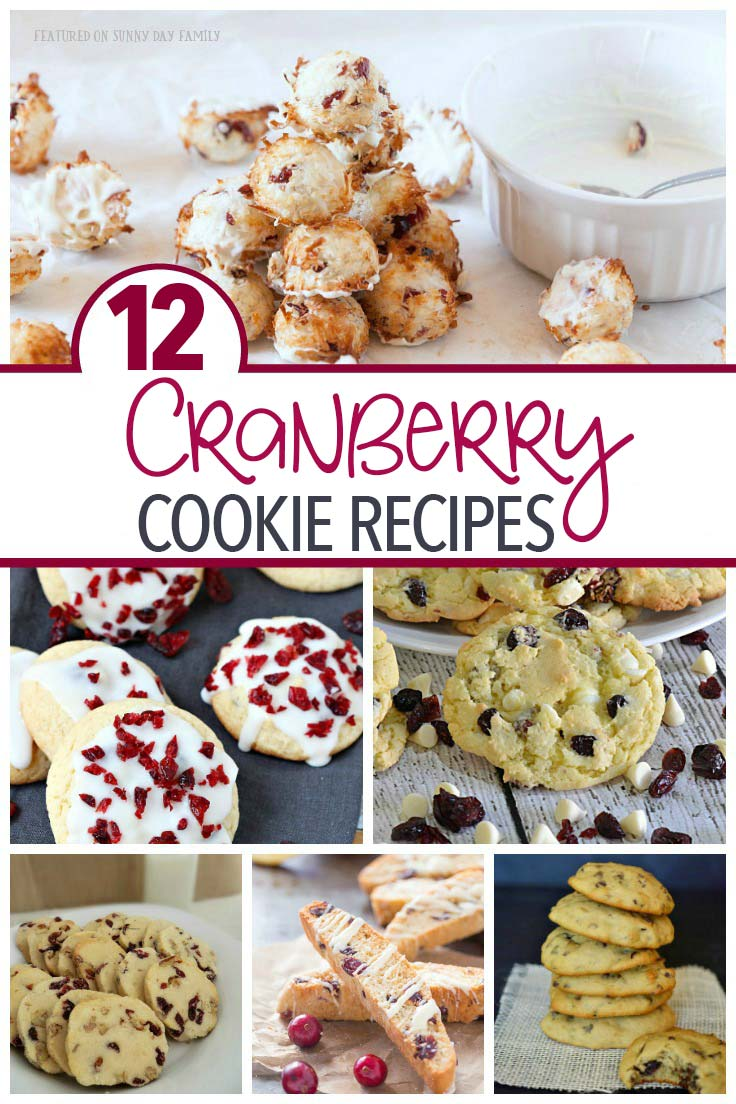 Add some zing and a pop of color to your holiday baking with one of these yummy cranberry cookie recipes. Try cranberry biscotti, cranberry oatmeal cookies, or a cranberry cake mix cookie hack - find all your cranberry cookie ideas here!