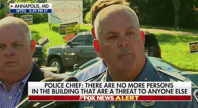 Capital Gazette Shooter Not Cooperating With Investigators – He Damaged His Fingertips to Avoid Identification