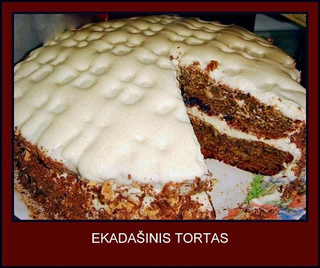 EKADAŠINIS TORTAS