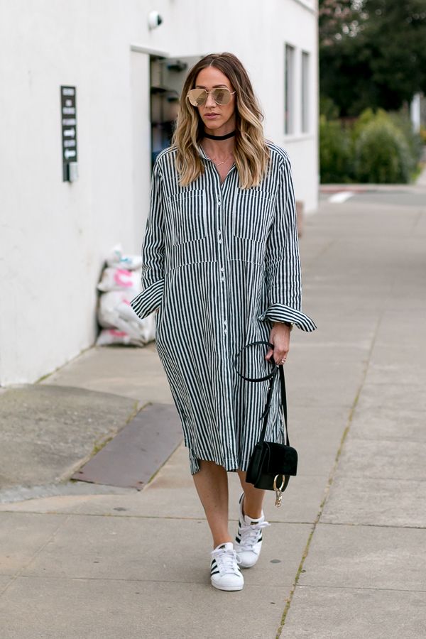 how to wear a casual shirtdress parlor girl