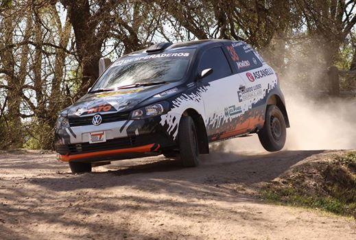 Giardino y Huerta reciben el provincial de Rally.