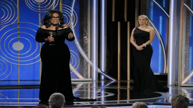 """أوبرا وينفري تُلهب حضور """"غولدن غلوب"""" بخطاب مؤثر: """"أصبحنا نحن القصة"""".. فيديو"""