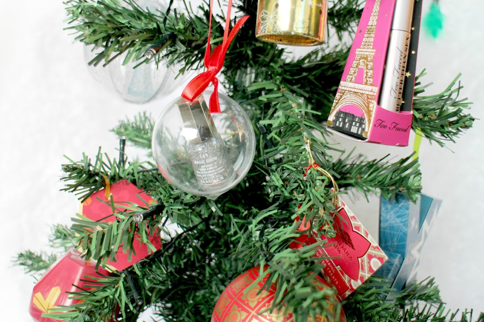 Christmas Tree Beauty Decorations
