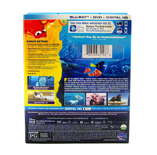 finding dory blu-ray dvd review