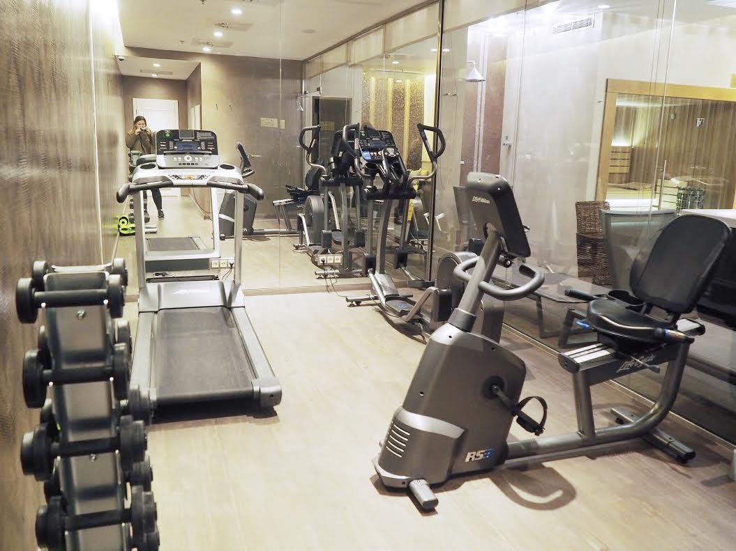 Prestige Budapest Hotel gym