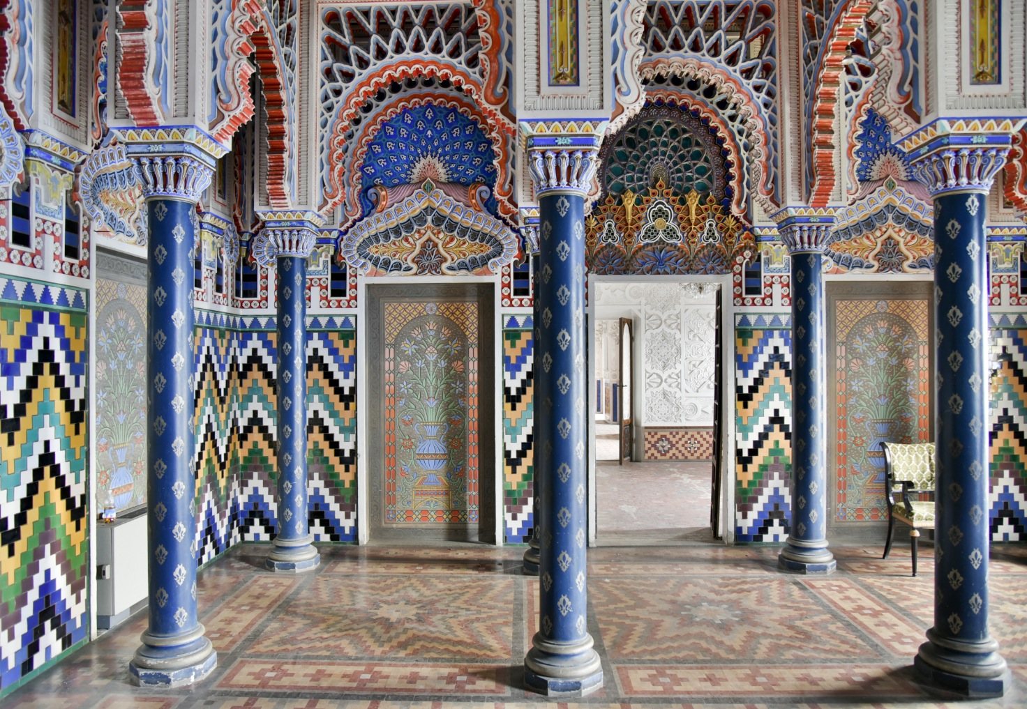 The Castle of Sammezzano May Be the Most Psychedelic Building in the