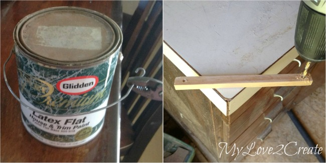 MyLove2Create Salvage Style, paint can handles