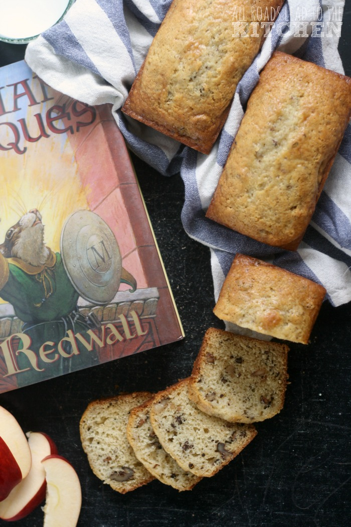 Brown Butter Nut Bread | #RedwallAugust