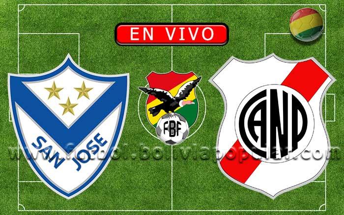 【En Vivo】San José vs. Nacional Potosí - Torneo Apertura 2020