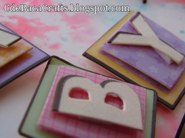 Baby Shower Cards by CdeBaca Crafts Blog.