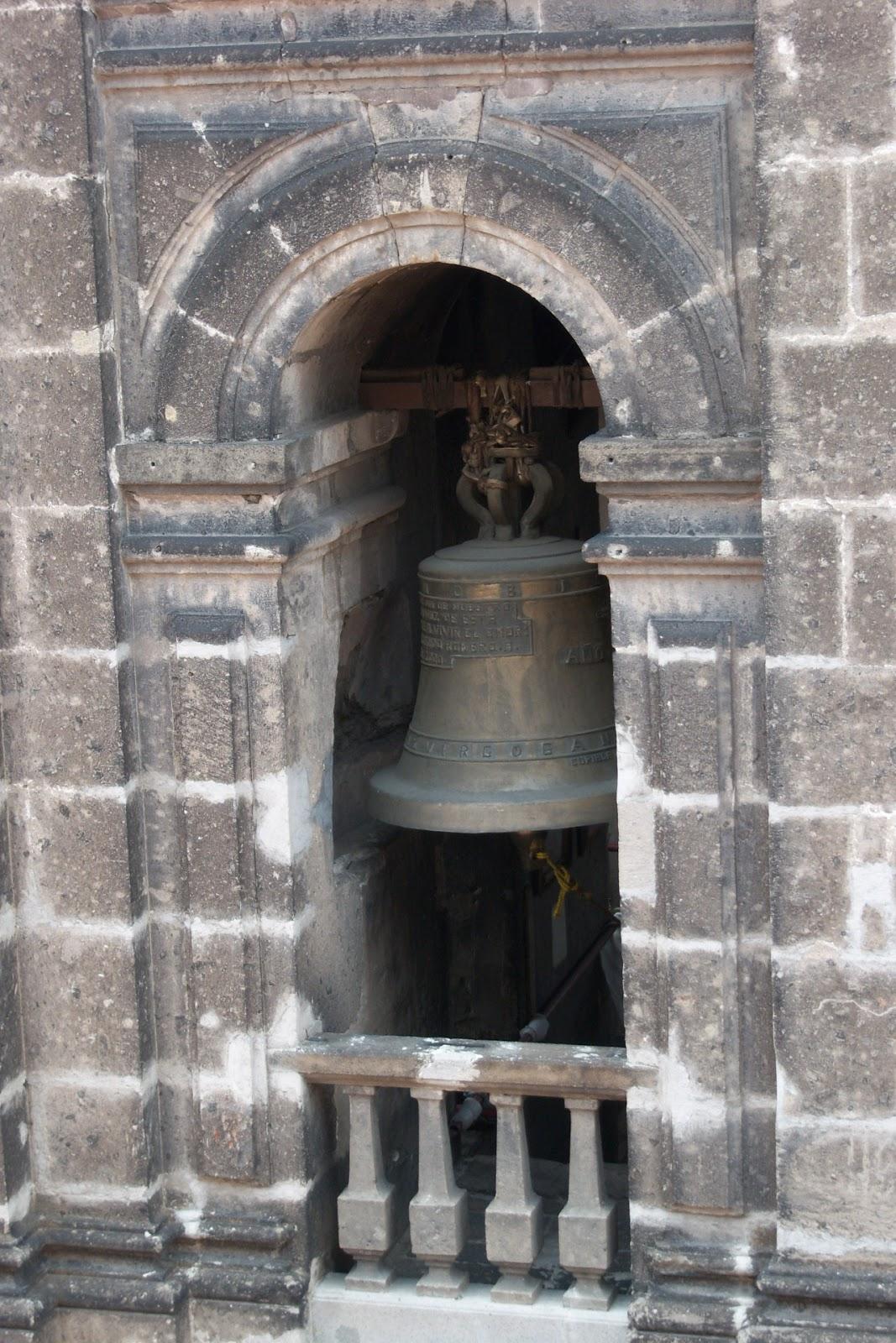 Campana de la Catedral DF