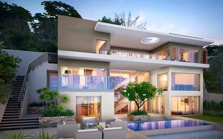10 desain rumah mewah terbaru 2017 model rumah minimalis