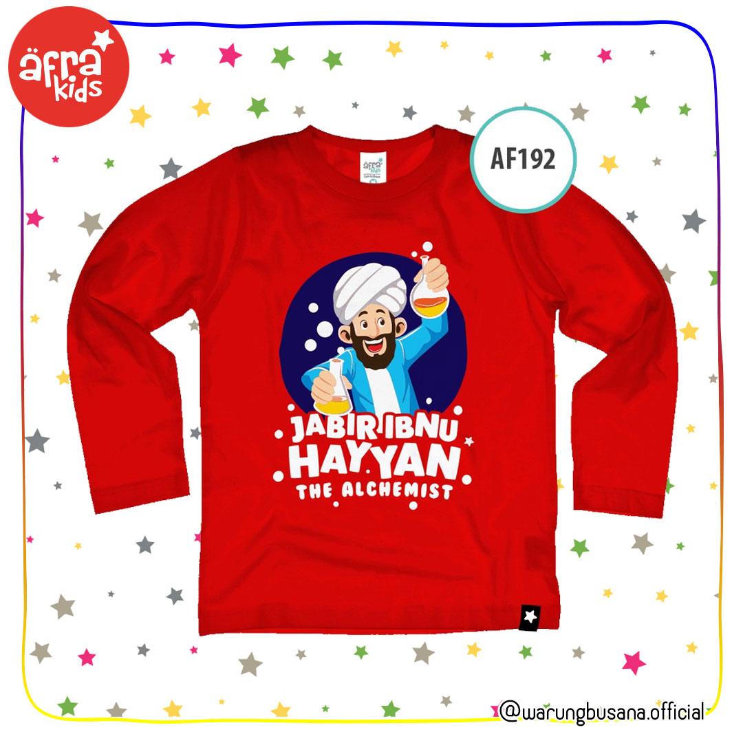 Afrakids Kaos Anak AF192 Jabir Ibnu Hayyan