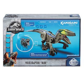 Kamigami Robots Velociraptor STEM toy