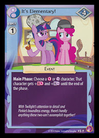 MLP It's Elementary! Rock N Rave CCG Card