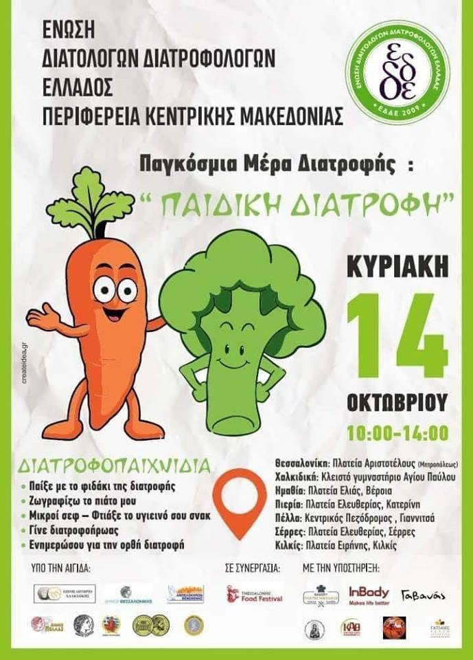 Παγκόσμια μέρα Διατροφής ''Παιδική Διατροφή''
