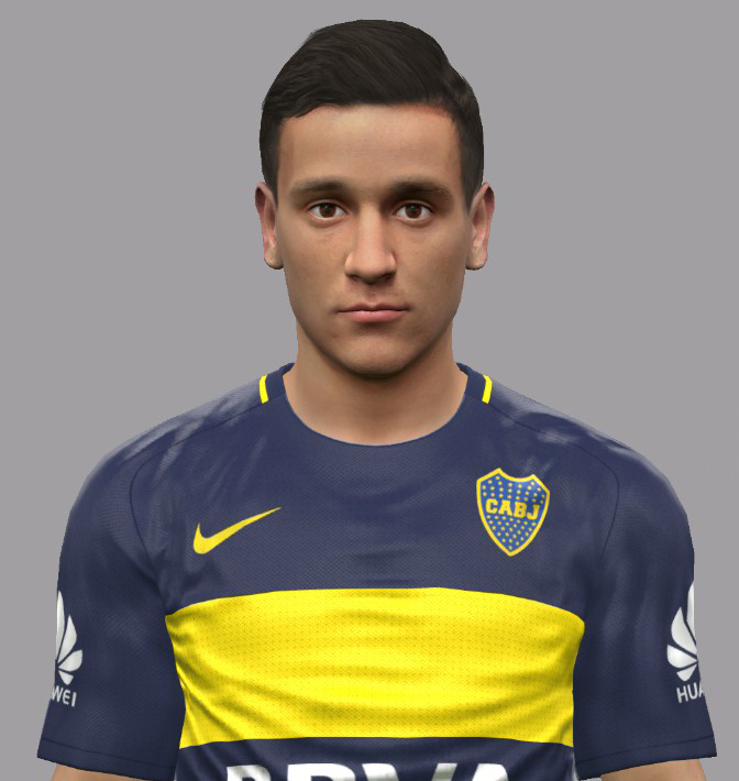 PES 2017 Fernando Zuqui (Boca Juniors) face by Luis Facemaker